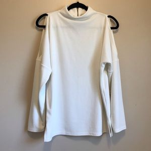 Chicos blouse tyra cold shoulder ottoman tunic